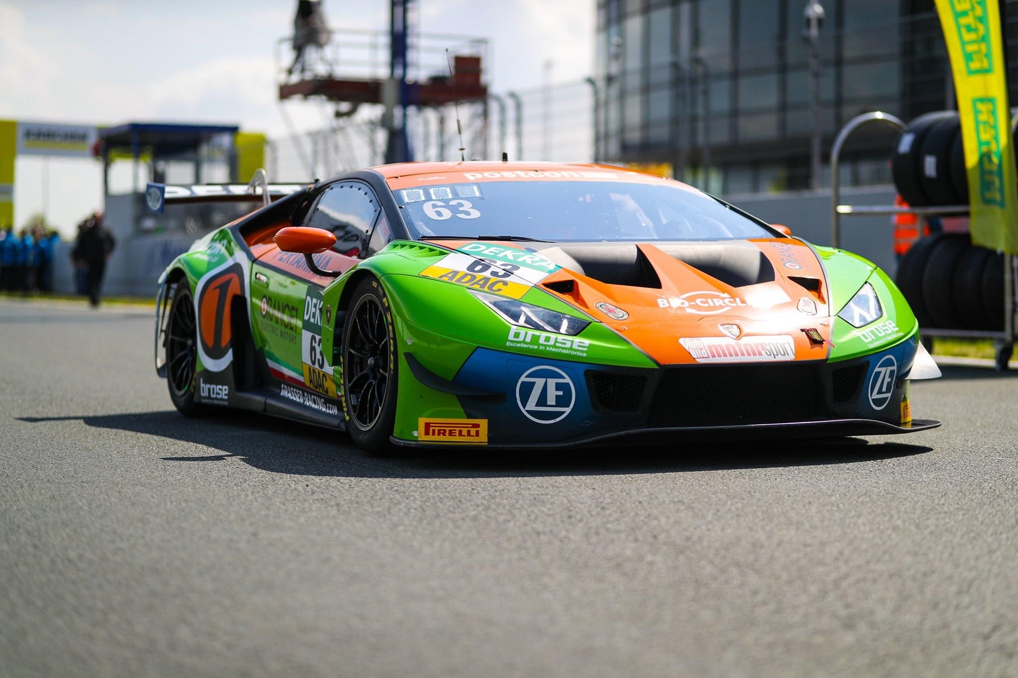Podium in ADAC GT Masters season opener at Oschersleben