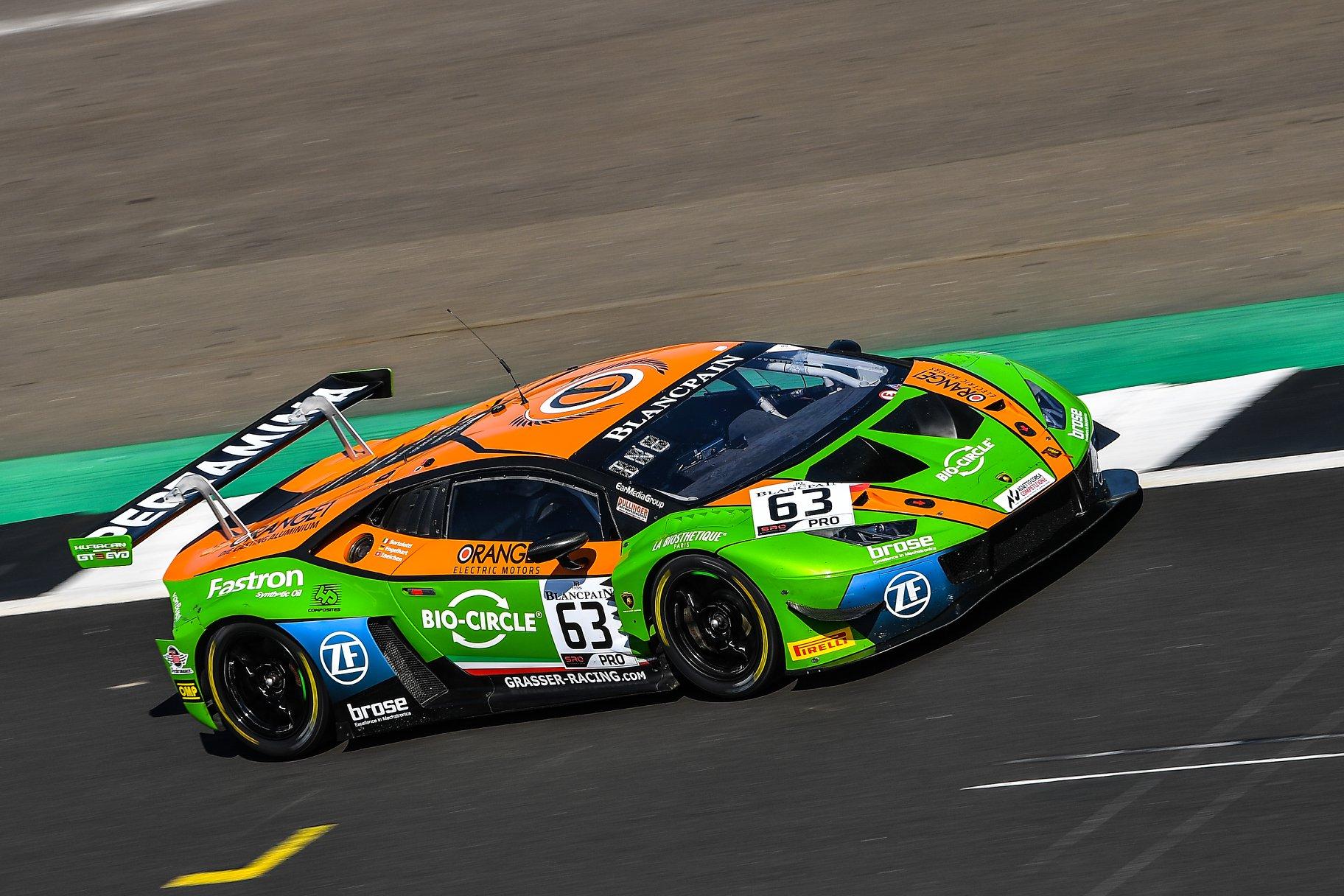 Orange1 Team GRT lives through bitter-sweet déjà-vu at the Blancpain GT Series Endurance Cup in Silverstone