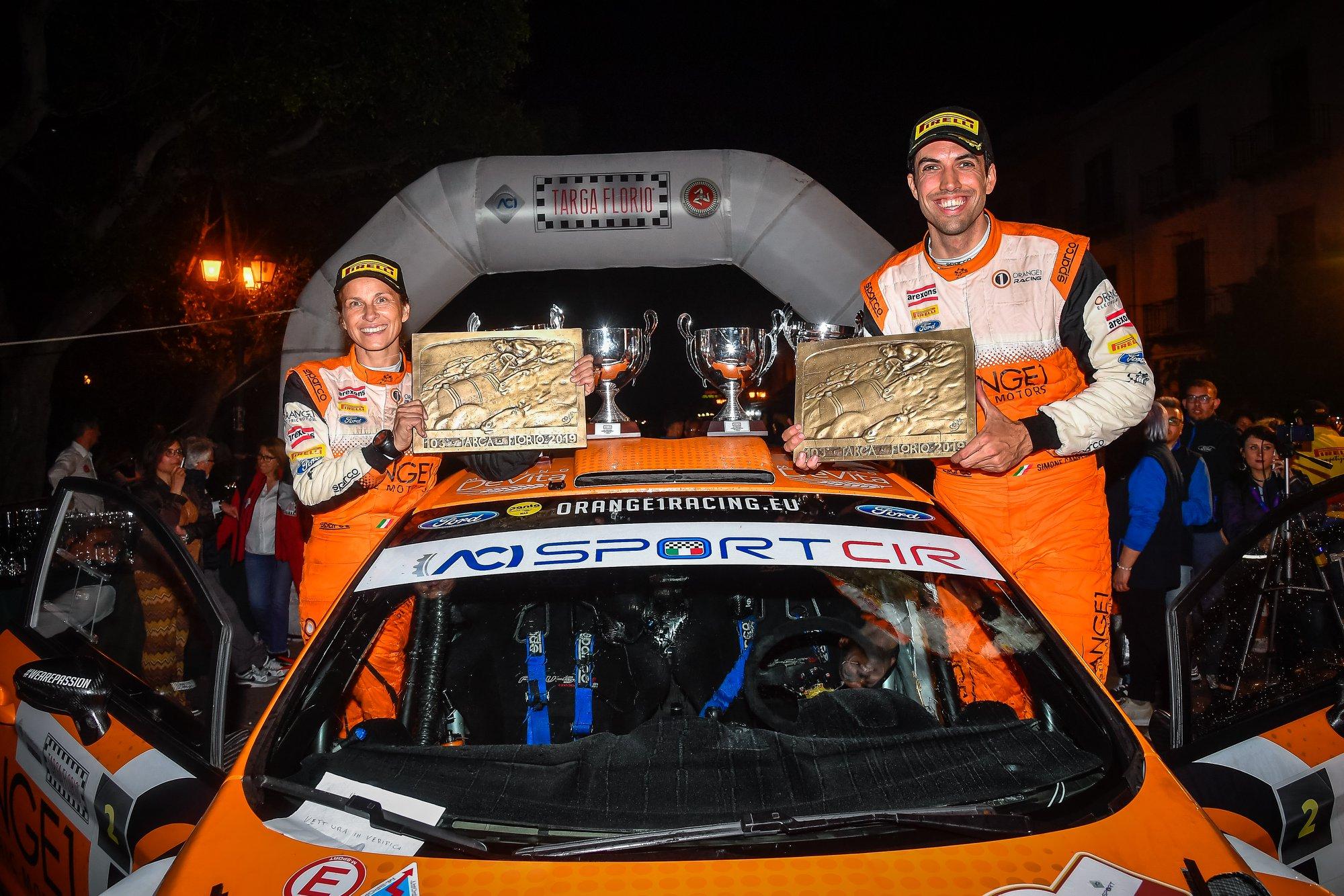 Campedelli e Orange1 Racing trionfano alla Targa Florio con la Ford Fiesta M-Sport