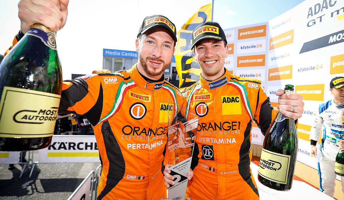 Two podiums for Orange1 By GRT Grasser at Autodrom Most
