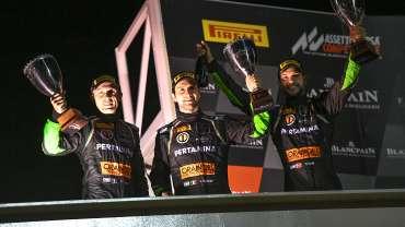 Poker Of Podiums for Orange1 FFF Racing Team at Paul Ricard 1000 Km