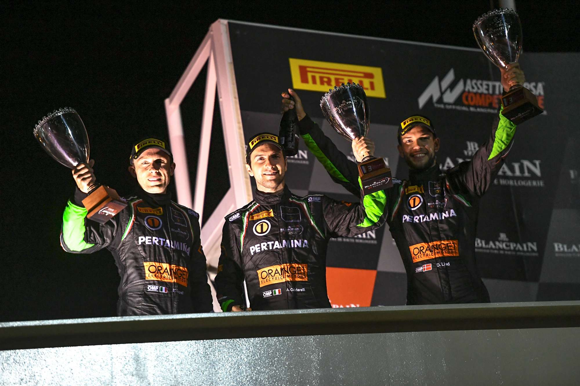 Poker Of Podiums for Orange1 FFF Racing Team at Paul Ricard 1000 Km