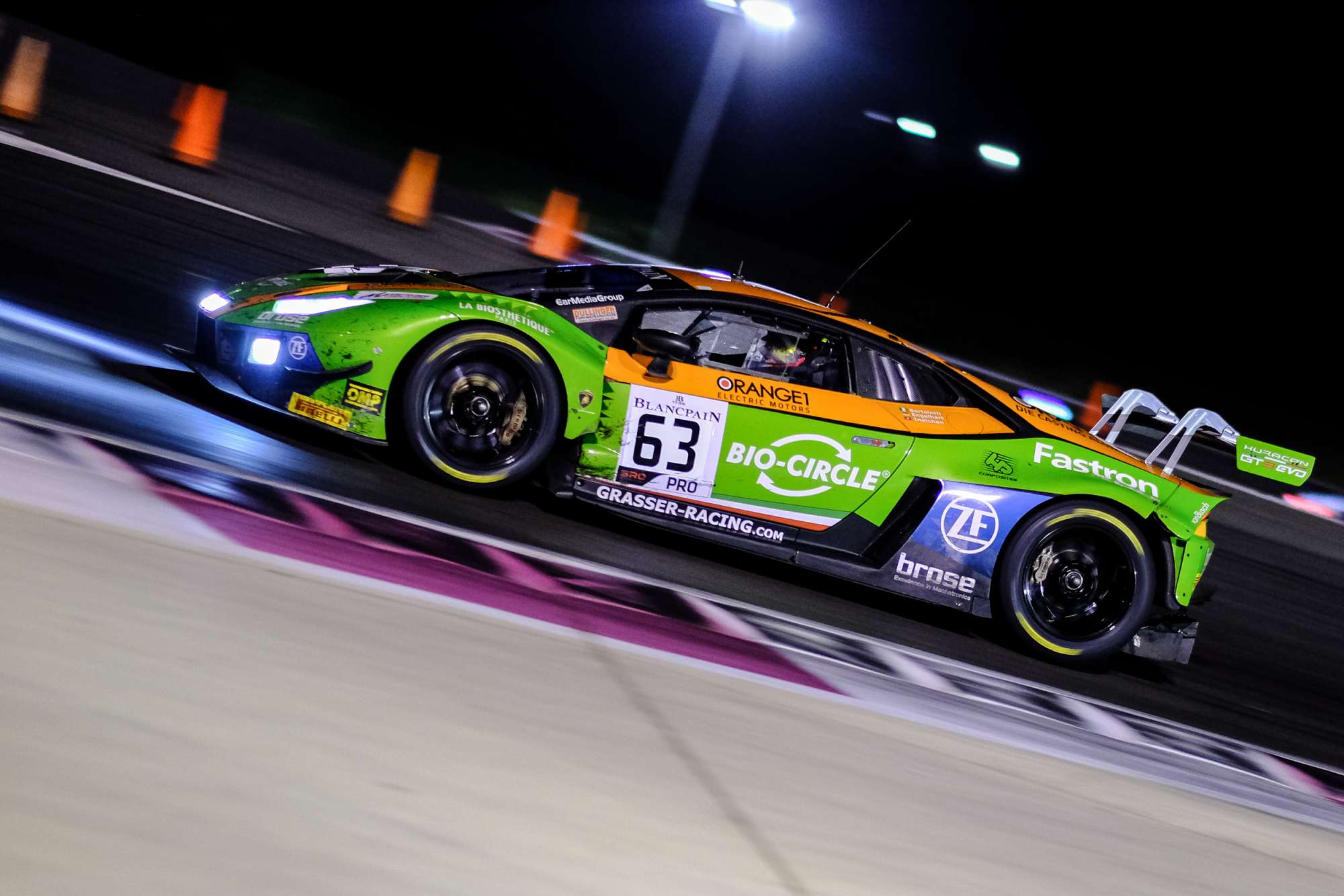 GRT Grasser Racing in Blancpain GT Series Endurance Cup Top 10 at Le Castellet
