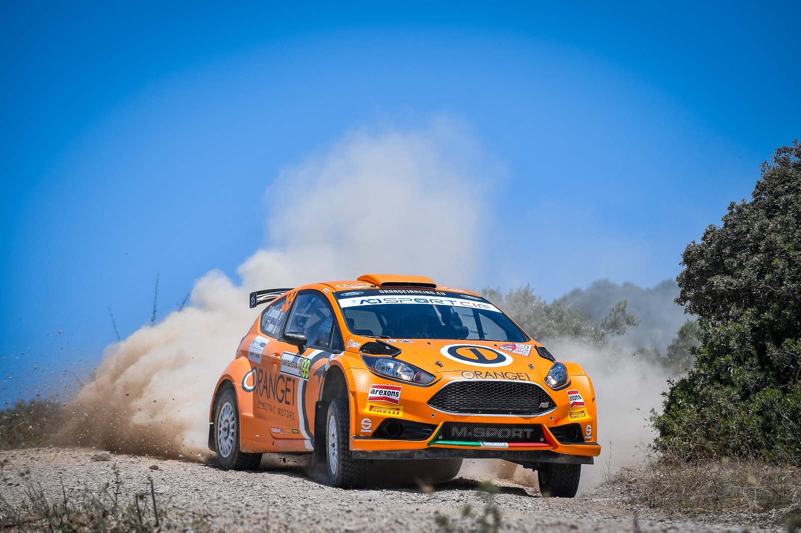 Weekend difficile per Orange1 Racing e Campedelli in Sardegna