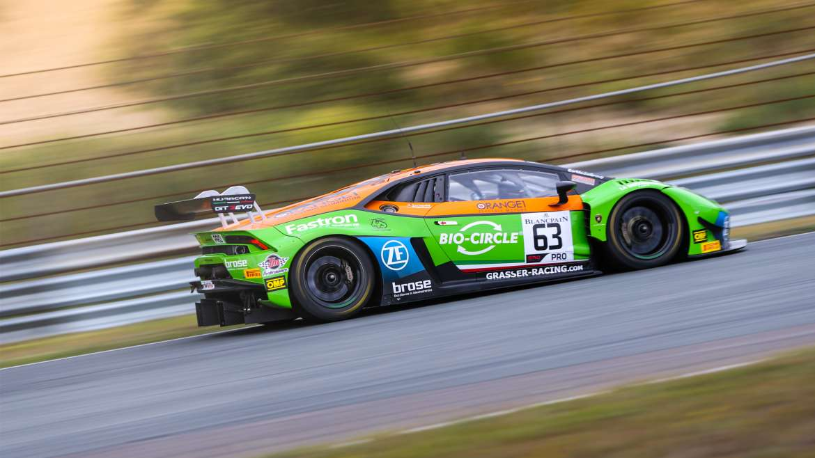 Orange1 Team GRT will tackle 24 Hours of Spa-Francorchamps with two cars