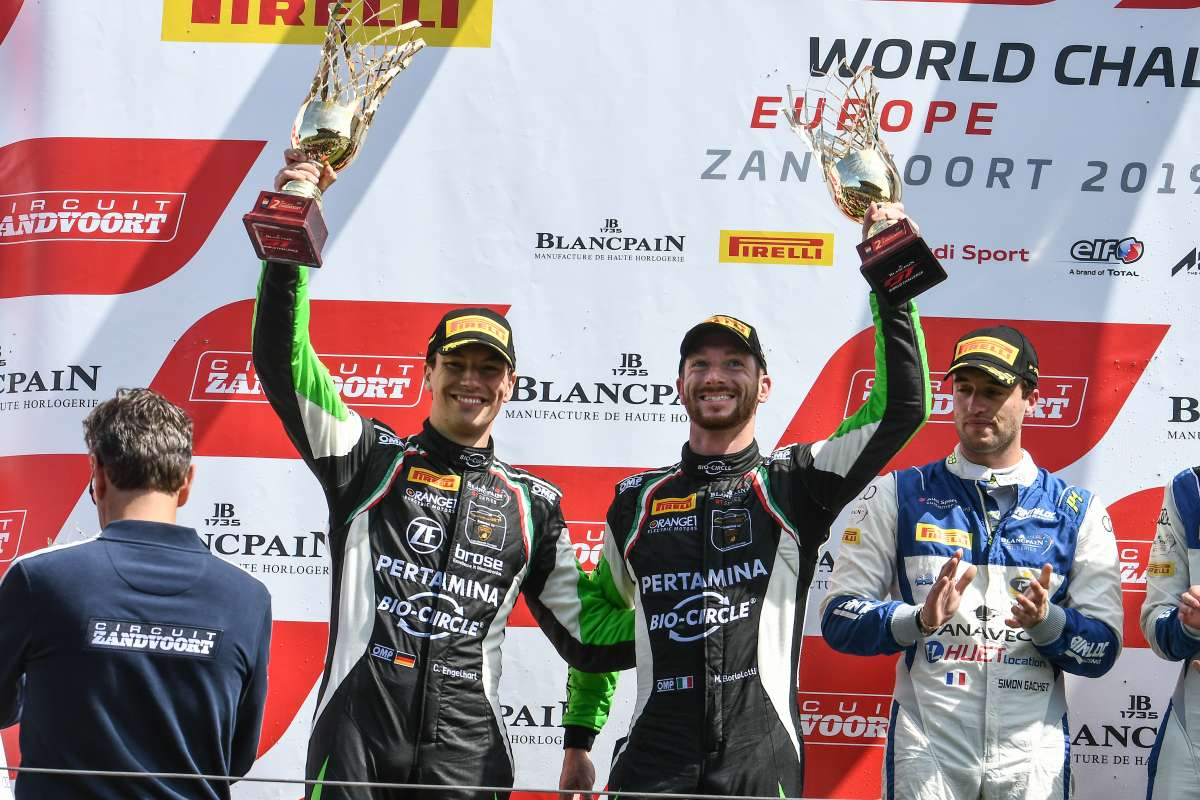 Two podium finishes for Orange1 Team GRT at Zandvoort