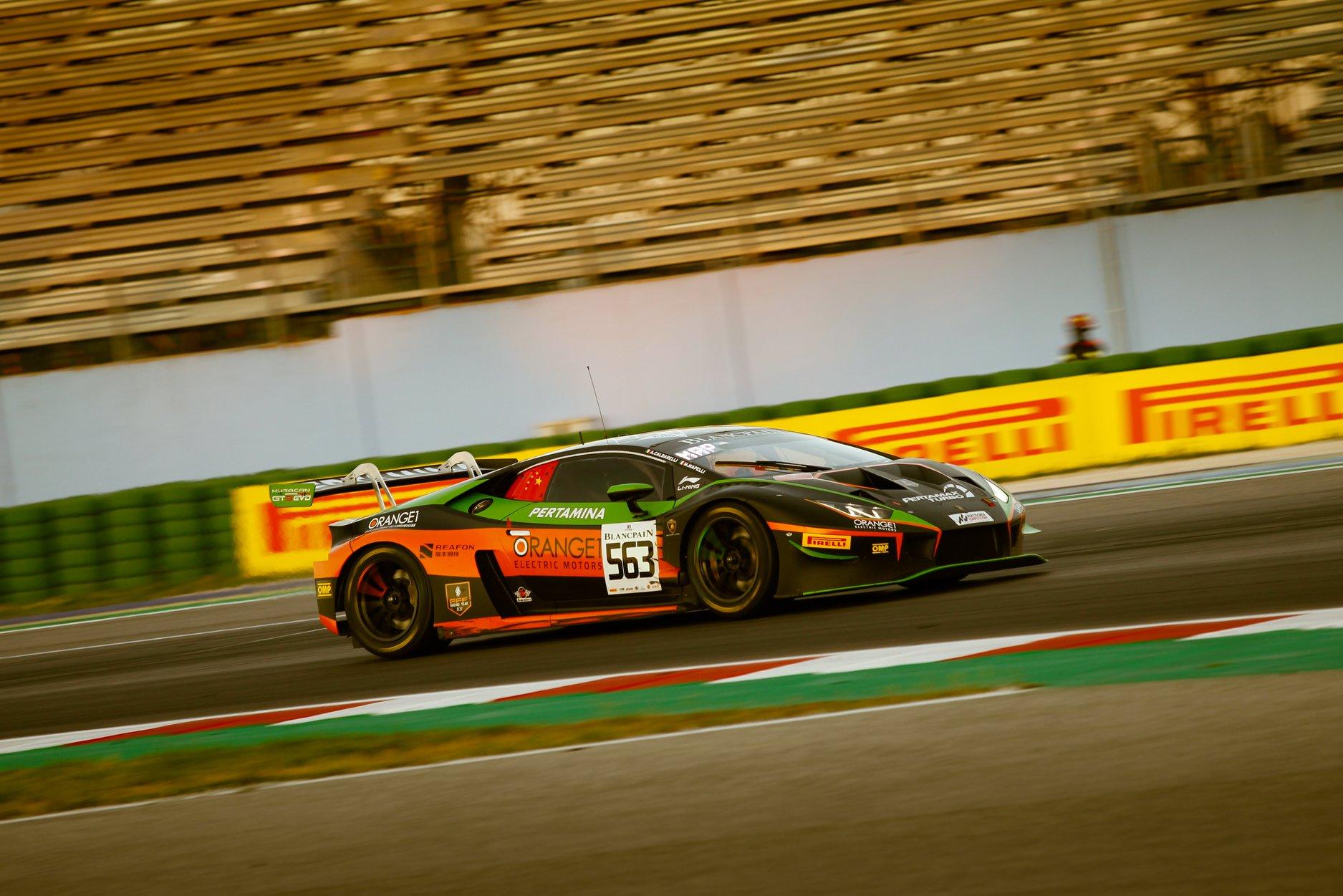 ORANGE1 FFF Racing by ACM looking forward Dutch challenge