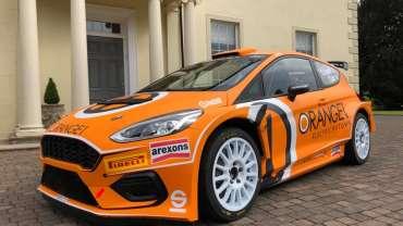 Simone Campedelli e Orange1 Racing portano al debutto nell'Europeo la nuova Fiesta 2019 M-Sport