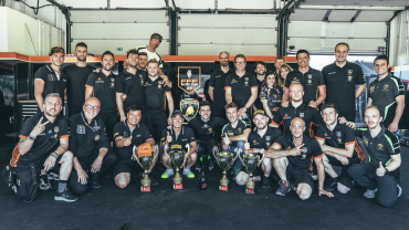 ORANGE1 FFF Racing by ACM scores maiden win in Misano