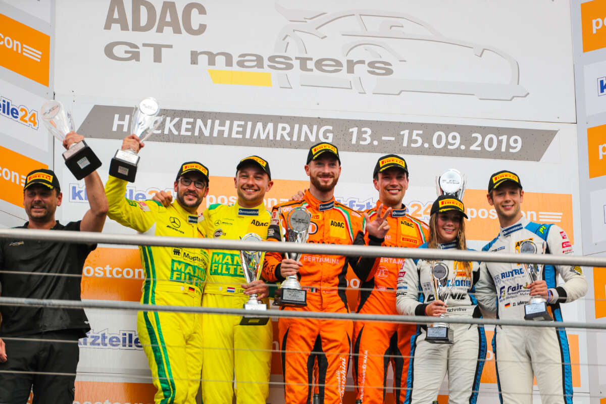 After victory at Hockenheim, Orange1 by GRT Grasser limber up for ADAC GT Masters showdown