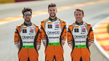 ORANGE1 FFF Racing Team by ACM, the best Lamborghini at Spa 24 Hours