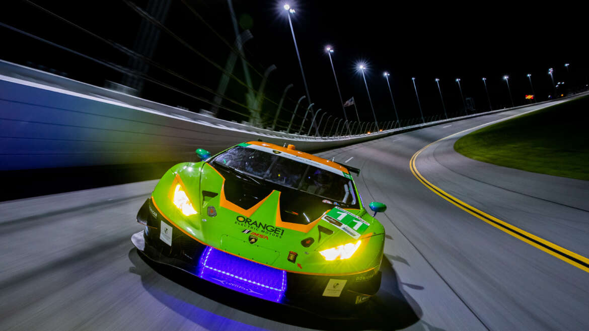 ORANGE1 AT THE ROLEX 24 HOURS OF DAYTONA FOR THE THIRD CONSECUTIVE YEAR WITH GRT GRASSER RACING TEAM AND LAMBORGHINI SQUADRA CORSE