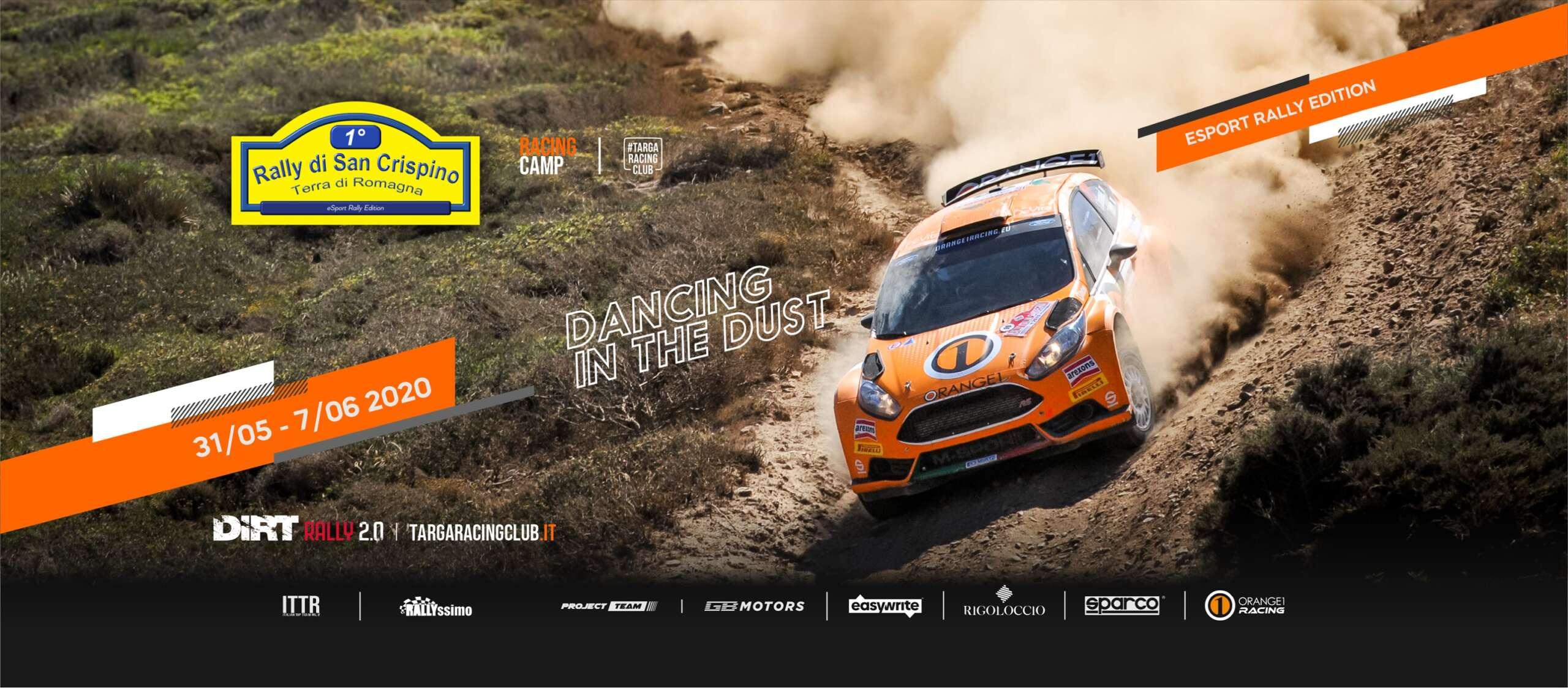 Danzando nella polvere del primo Rally San Crispino eSport!