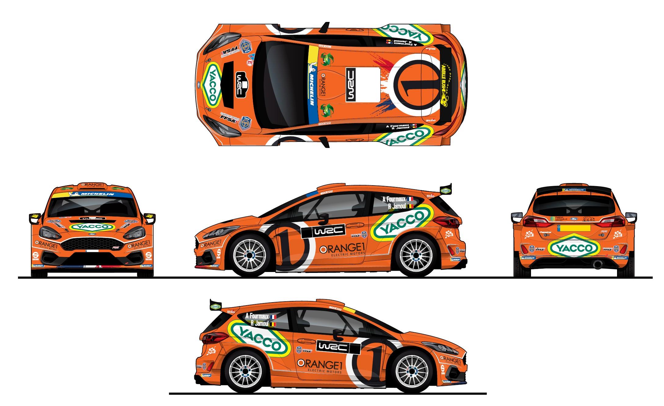 M-Sport dedica una livrea celebrativa ad ORANGE1 per l'appuntamento tricolore del Campionato Europeo Rally – Simone Campedelli con Orange1 Racing fino al 2024