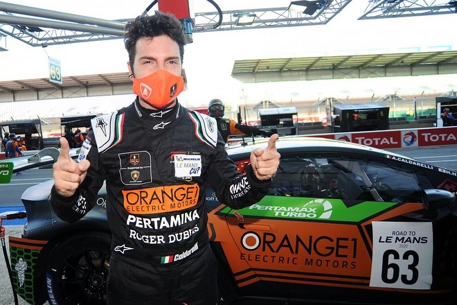 Double win for ORANGE1 FFF Racing Team by ACM at Le Mans
