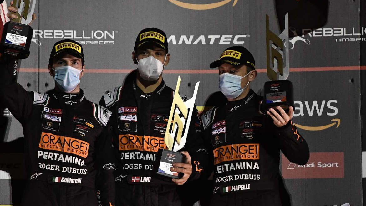 ORANGE1 FFF Racing Team by ACM scored a brilliant podium in the final round of the GT World Challenge Europe Endurance Cup, the Paul Ricard 1000km