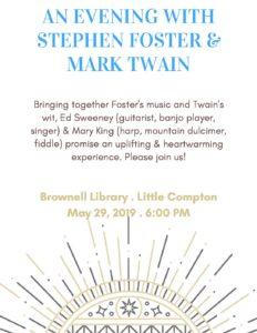An Evening with Stephen Foster & Mark Twain