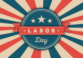 The library will be closed in observance of Labor Day