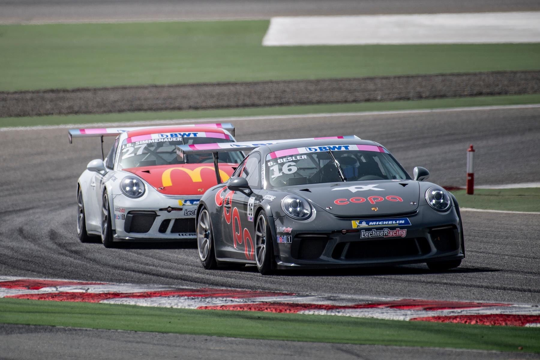 Besler gets his first win at GT3 Cup Middle East