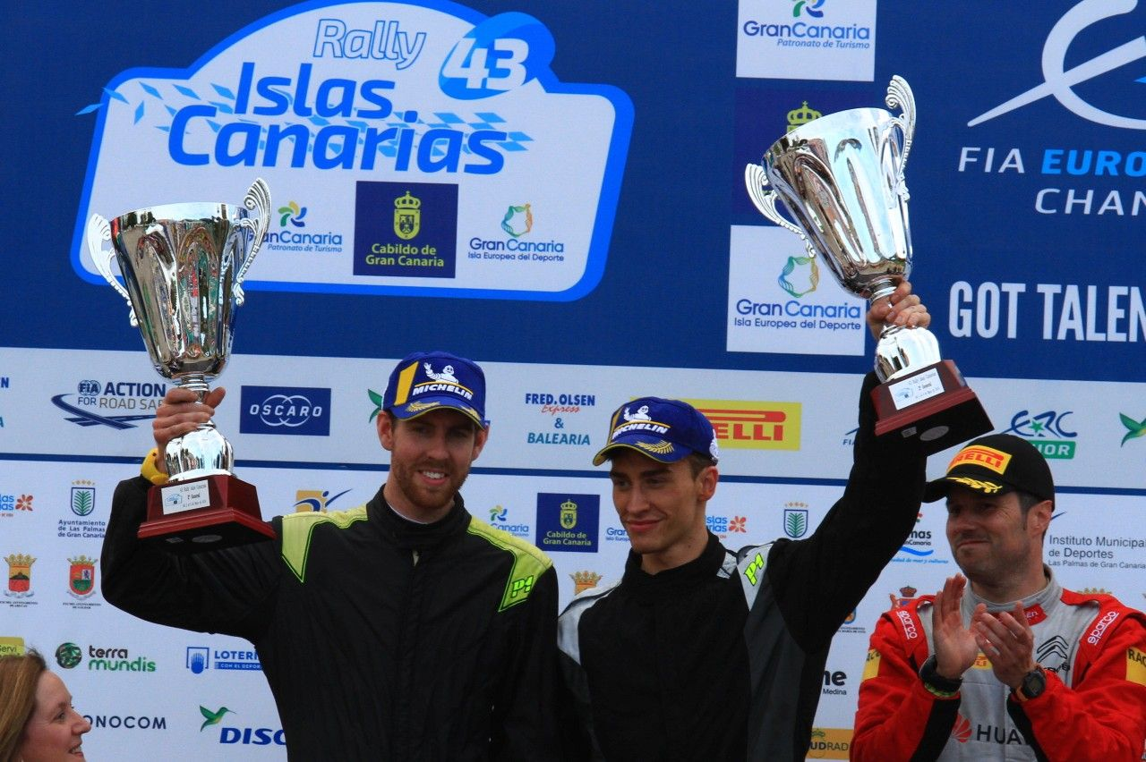 Toksport WRT keeps leading in Teams after ERC Rally Canarias