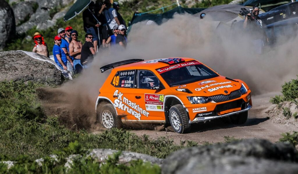 Podium finish from Henning Solberg at WRC Portugal