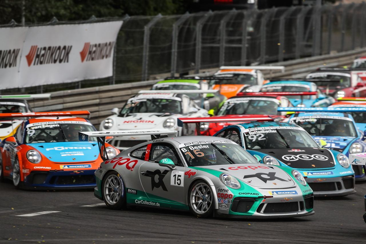 Porsche Carrera Cup Deutschland Norisring Toksport WRT
