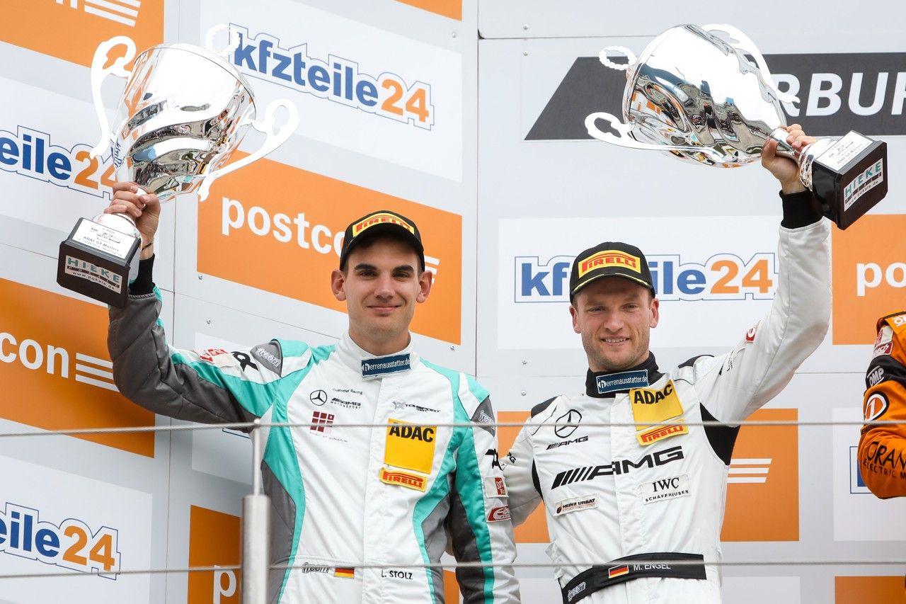 Luca Stolz Maro Engel ADAC GT Masters Nurburgring Toksport WRT