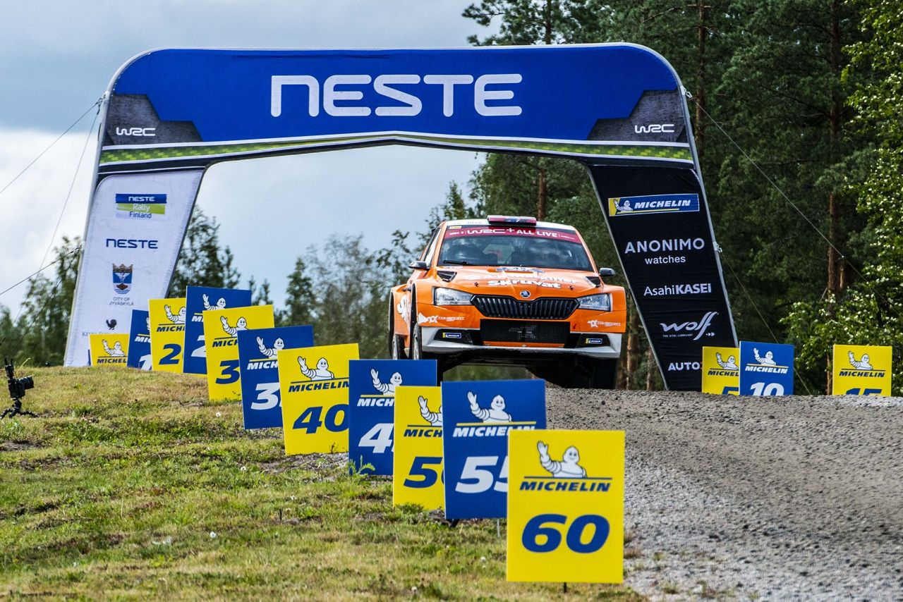 WRC Rally Finland Toksport WRT