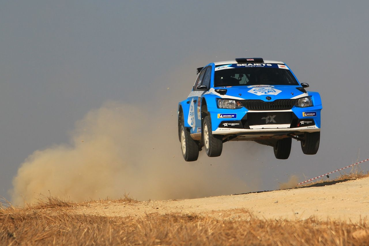 ERC Rally Cyprus Toksport WRT