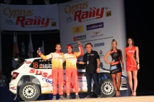 ERC Rally Cyprus Toksport WRT