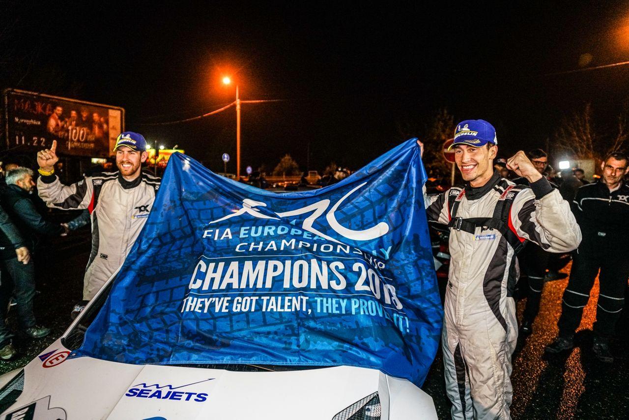 Chris Ingram European Rally Champion
