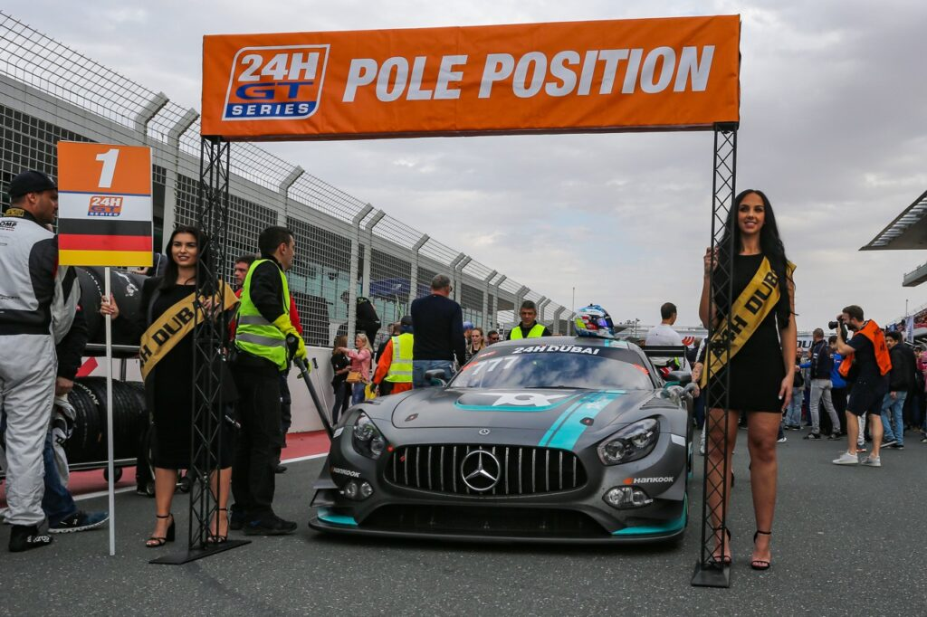 Dubai 24h 2020 Pole Position Toksport WRT