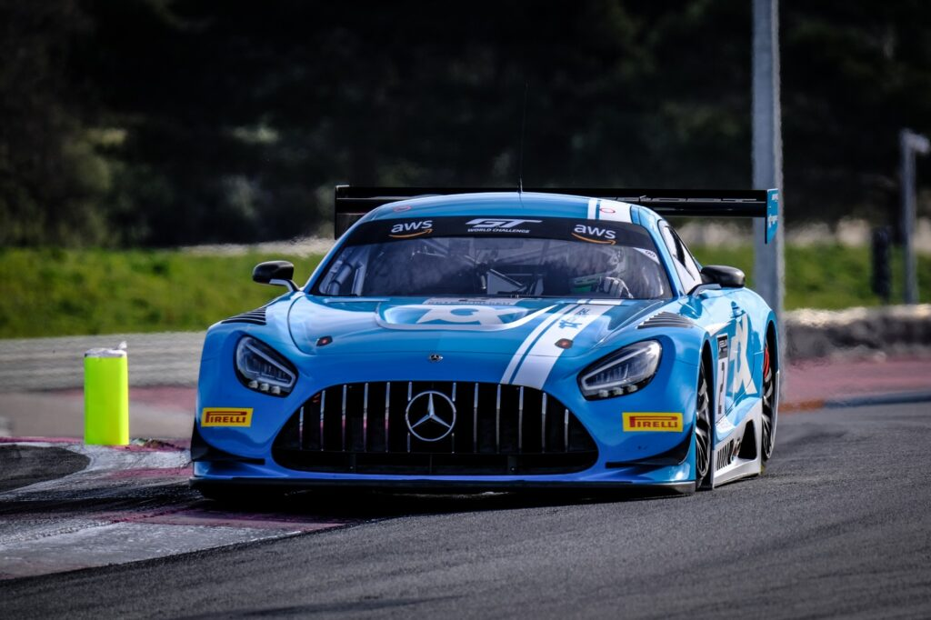 Mercedes AMG GT3 Toksport WRT