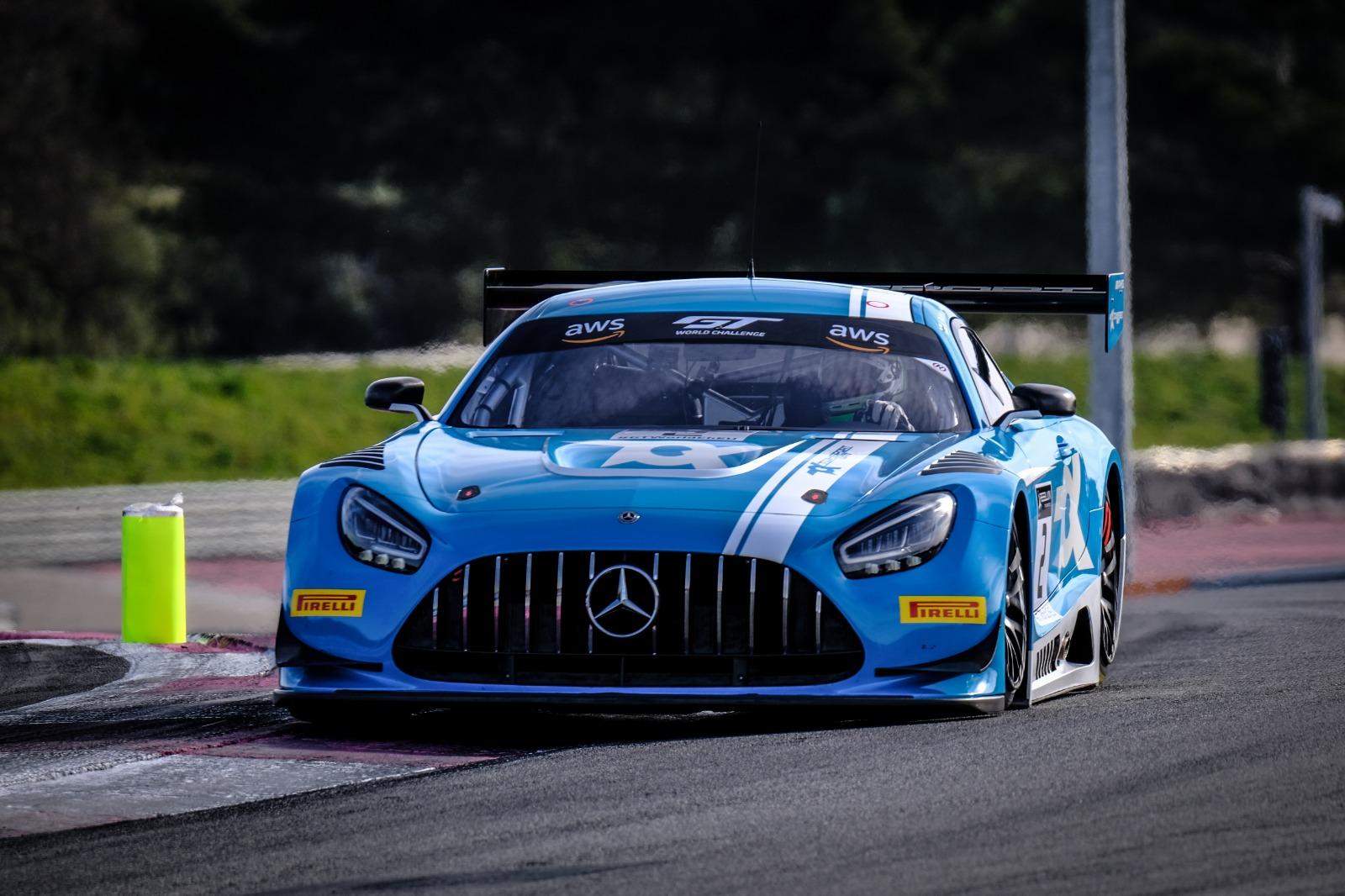 Mercedes AMG GT3 Toksport WRT