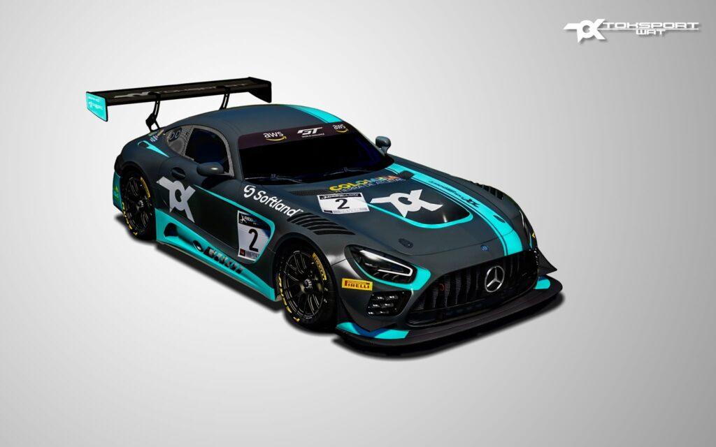 Oscar Tunjo Mercedes AMG GT3