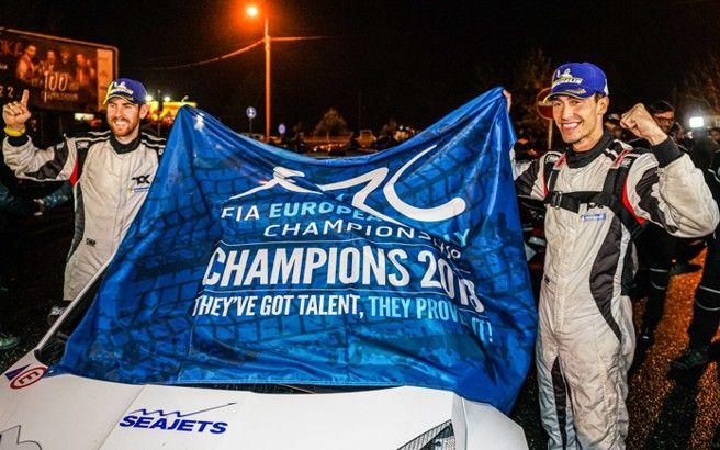 Chris Ingram ERC Champion