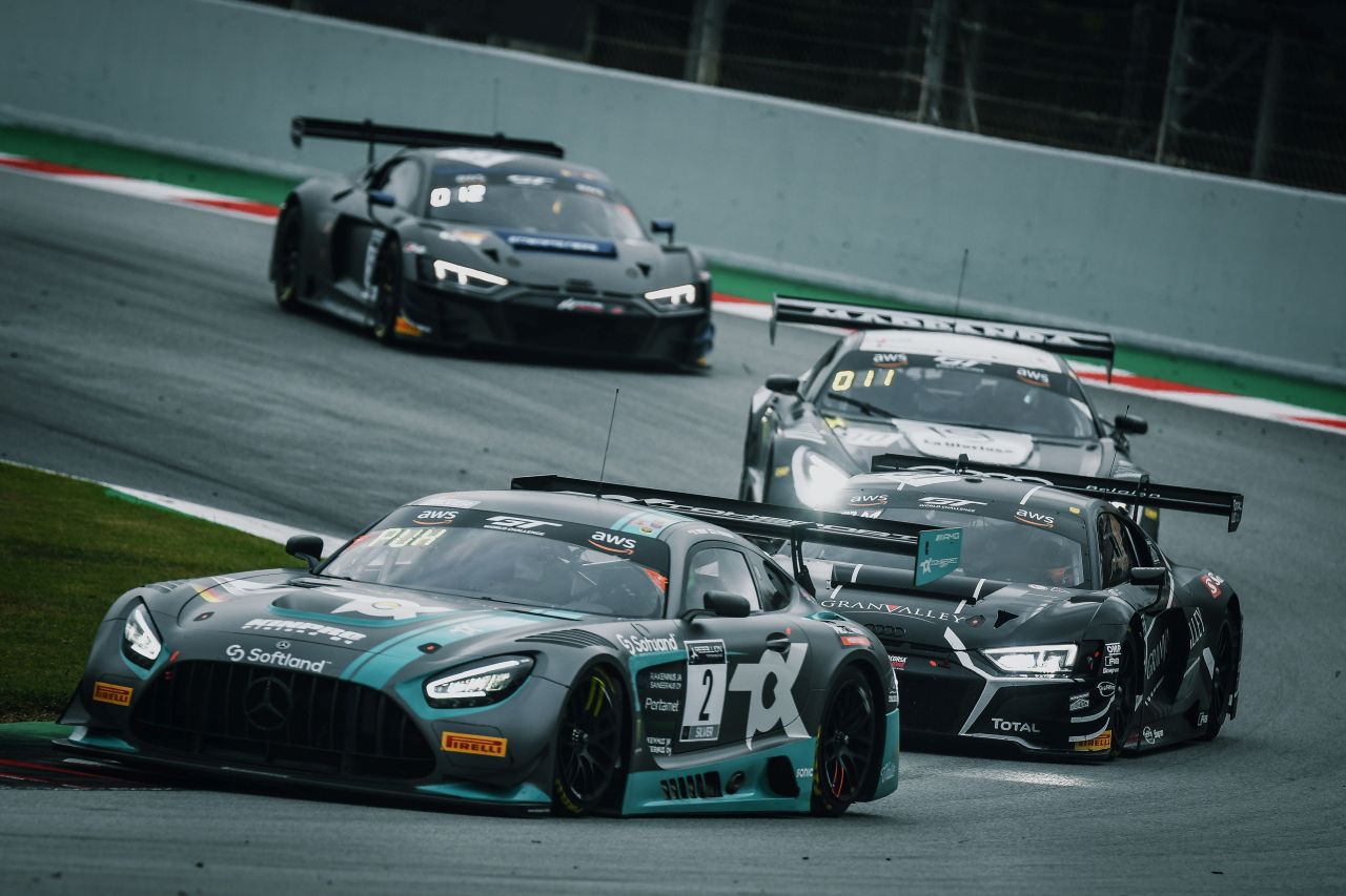 Toksport WRT finished fourth in the Silver Cup