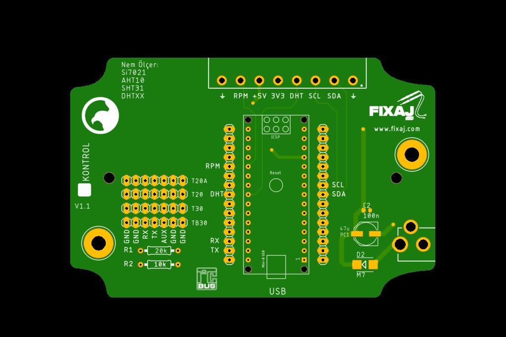 Kablosuz Sensör Kartı