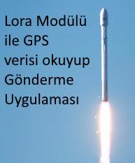 GPS verisi okuyup gönderme uygulaması