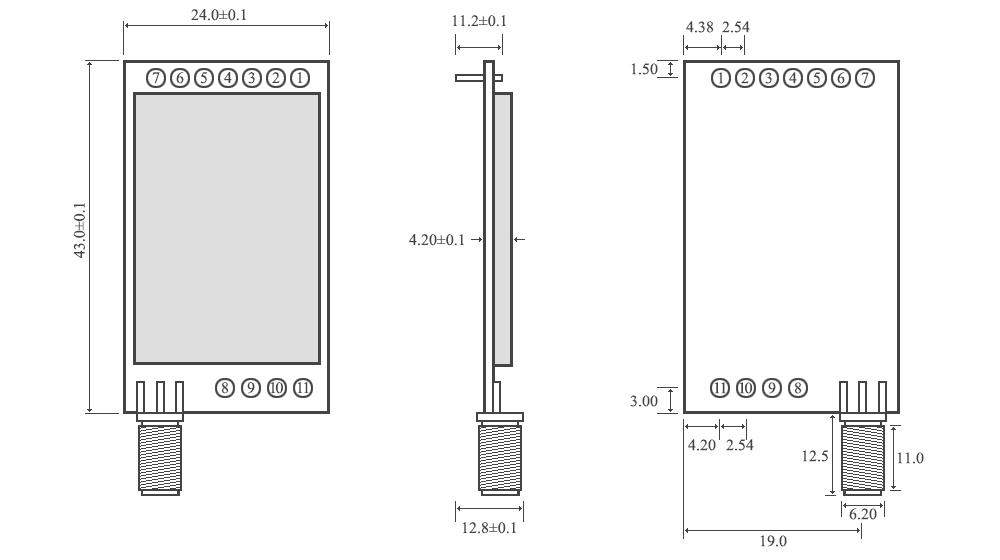e32 433T30d pin yapısı