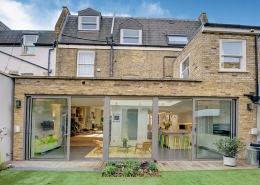 Swift Street, Fulham, SW6, 7 Bedroom House for sale, Rear of property