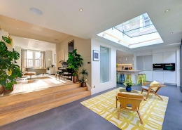Swift Street, Fulham, SW6, 7 Bedroom House for sale, Kitchen living rear