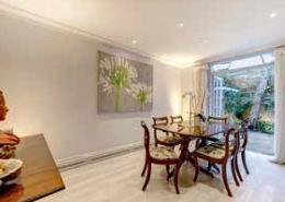 Cadogan Lane, Knightsbridge, SW3, 3,4 Bedroom House for sale, Dining