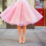 Pastel colors for tulle skirts