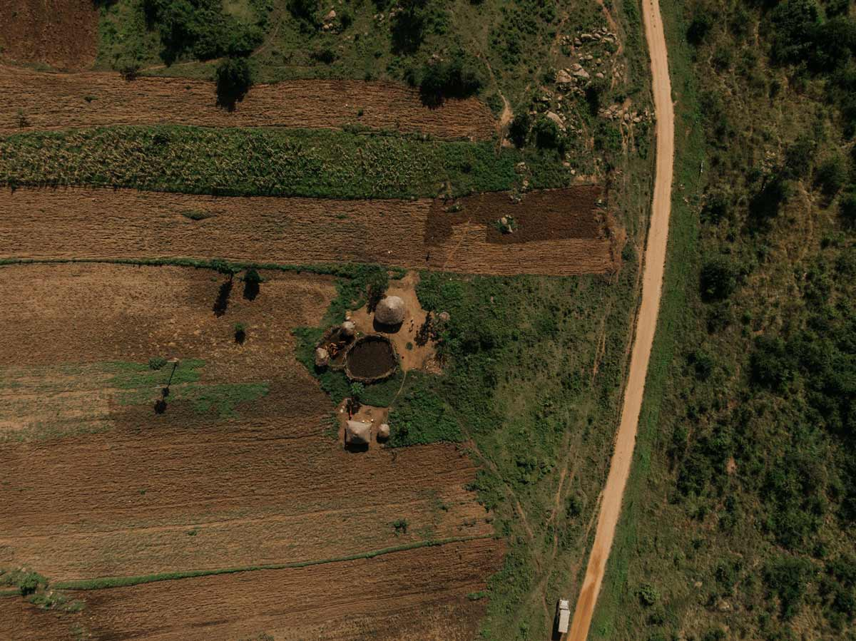 Villagers live in remote parts of the Serengeti amongst wild animals.