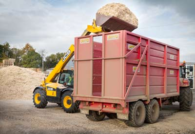 Woodchip commercial biomass fuel