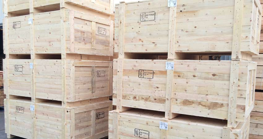 qyality heavy duty wooden crates and packing cases