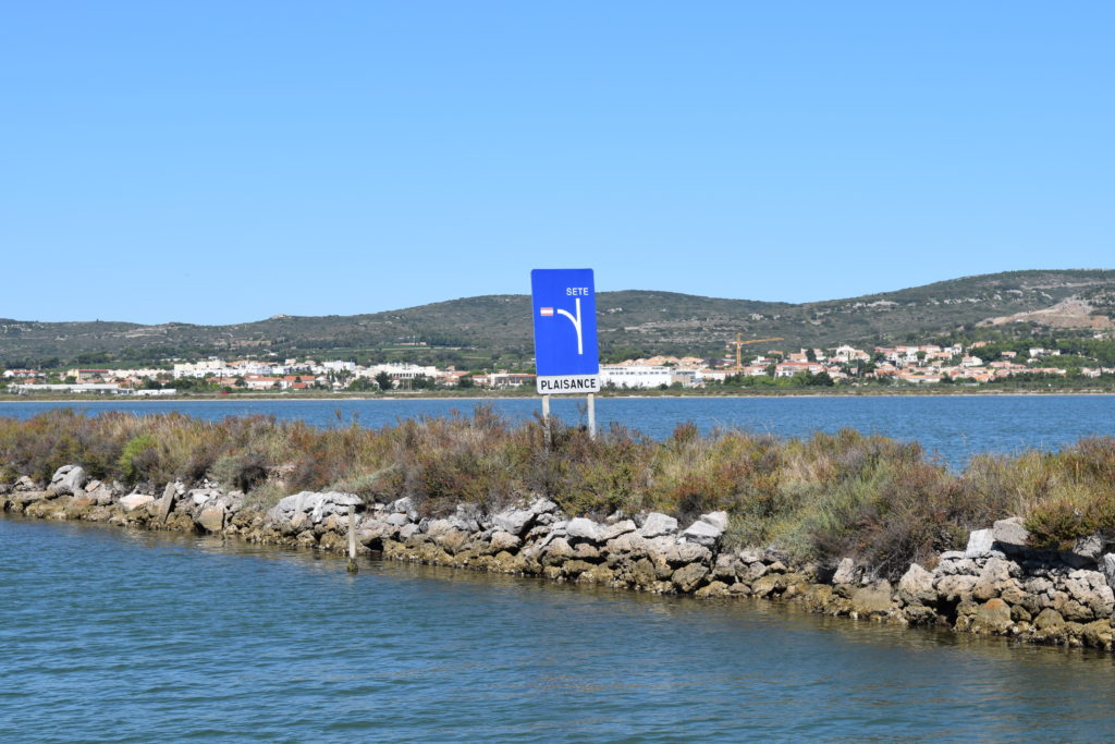 No entry into side channel for pleasure boats