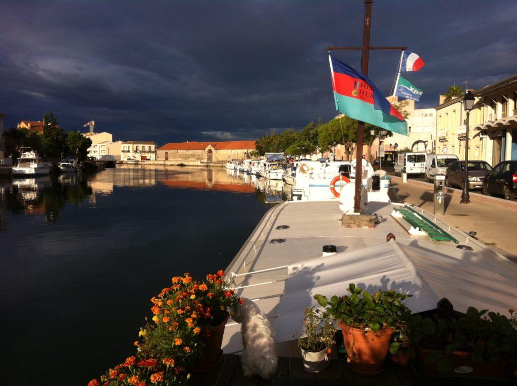 Frontignan port