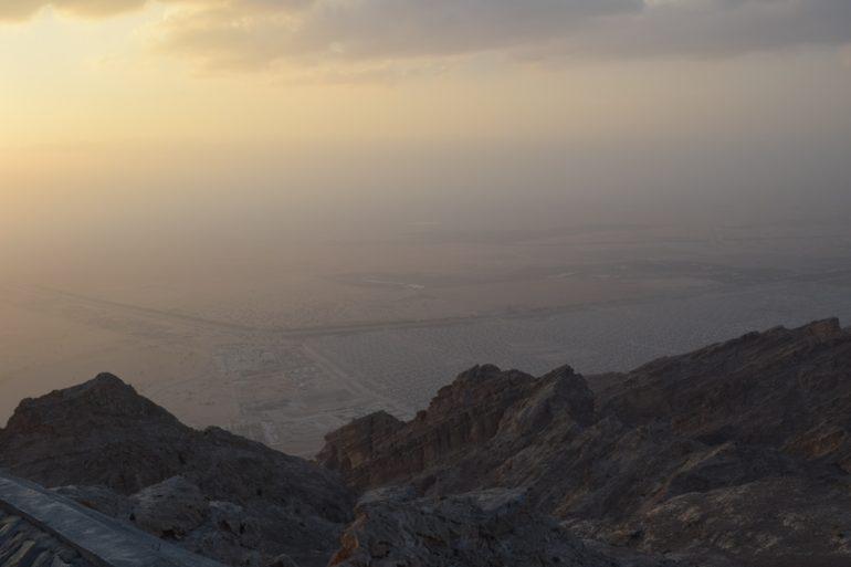 The top of Jebal Hafeet